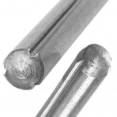 Detailansicht Zylinderkerbstift - DIN 1473 - Edelstahl A1