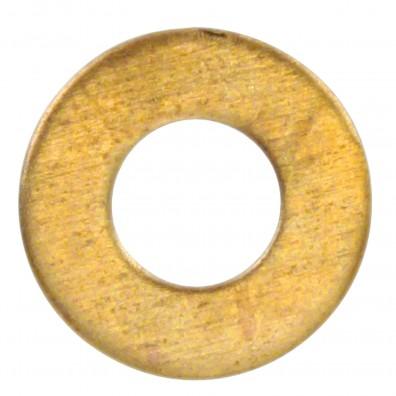 Detailansicht Unterlegscheibe DIN 125 Messing