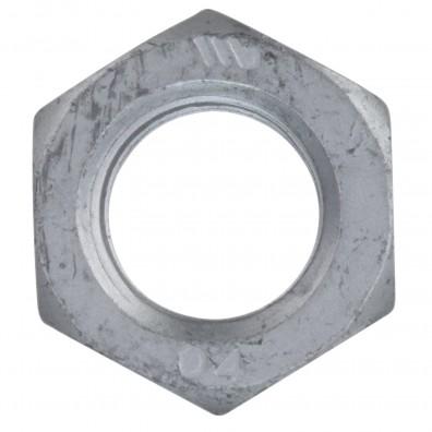 Detailansicht Sechskantmuttern - niedrig - Form B - zinklamellenbeschichtet - DIN 439