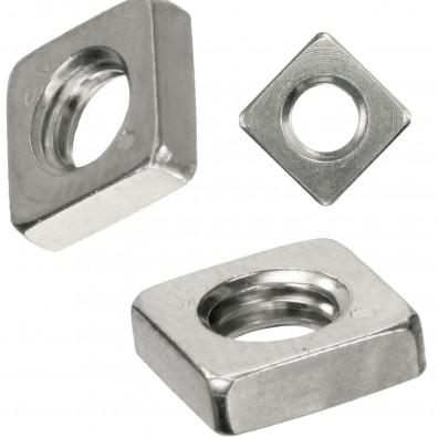 Vierkantmutter DIN 562 Edelstahl A2