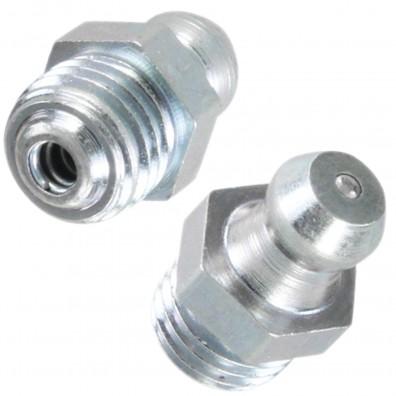 Detailansicht Kegelschmiernippel - Form A - DIN 71412 - verzinkt