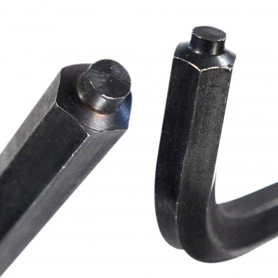 Detailansicht Winkelschraubendreher mit Zapfenführung DIN 6911