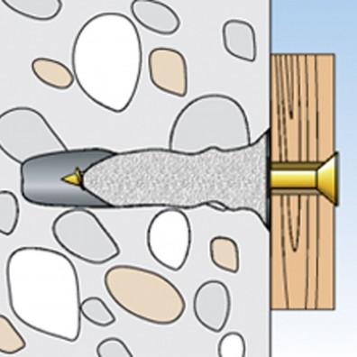 fischer Reparaturvlies Schritt 4