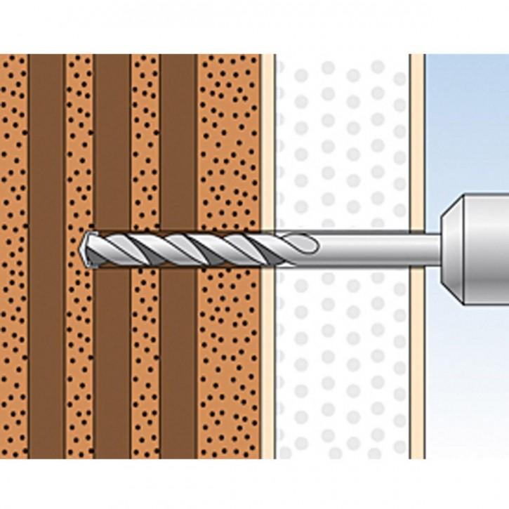 fischer Montageanleitung fischer Thermax 12/16 Schritt 1