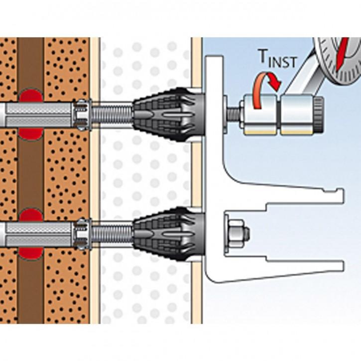 fischer Montageanleitung fischer Thermax 12/16 Schritt 10