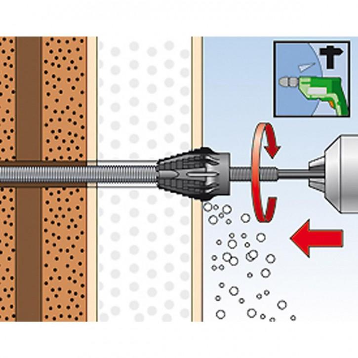 fischer Montageanleitung fischer Thermax 12/16 Schritt 4