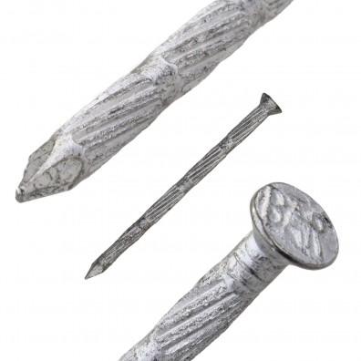 Detailansicht des Stahlnagels