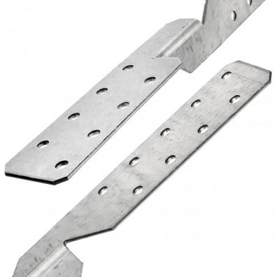 Detailansicht des Sparrenpfettenankers mit beiden Anschlussseiten
