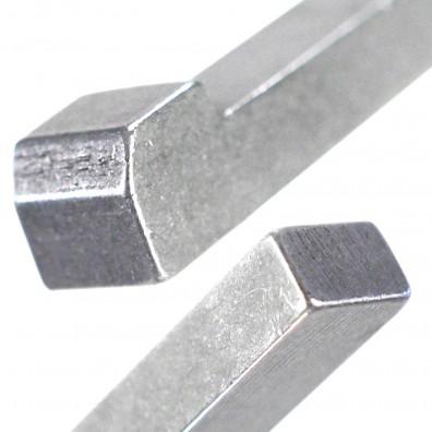 Detailansicht Nasenkeil DIN 6887 Stahl C45+C