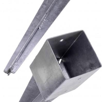 Topf und Ankerspitze Einschlagbodenhülse