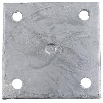 Grundplatte des aufdübelbaren I-Pfostenträgers