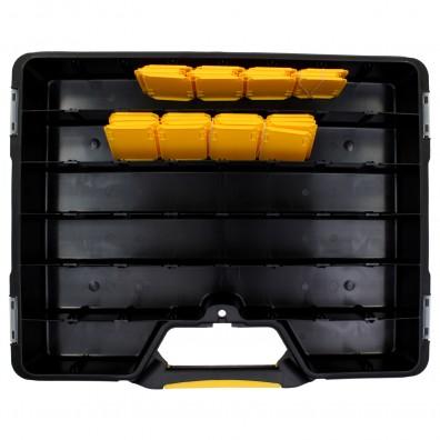 Allit Sortimentskoffer EuroPlus Basic 47 Ansicht von oben