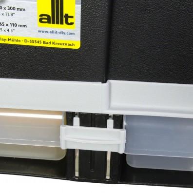 Allit Werkzeugkoffer McPlus Depot S 20 Sortimentkasten Verriegelung