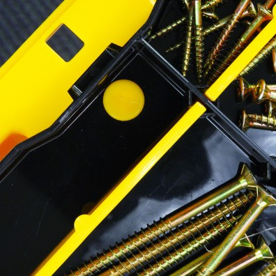 Allit Werkzeugkoffer McPlus Pro M mit Sortimentkasten-Arretierung