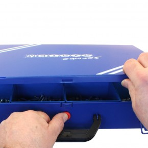 470 tlg Innensechskantschrauben Sortiment DIN 912 verzinkt 8.8 5x20 - 10x40