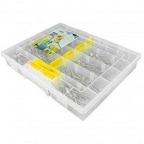 700 tlg Spanplattenschrauben Sortiment Senkkopf gelb Torx 4x40 bis 5x100