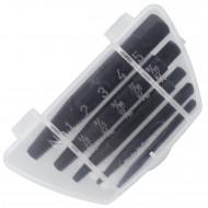5tlg Schraubenausdreher-Satz - Gr. 1 - 5 (M3 - M18 Schrauben) - CV-Stahl