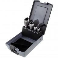 4 tlg Querlochsenker Set HSS in Rosebox 2 - 20 mm