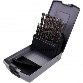 19 tlg Marken-Spiralbohrer Sortiment DIN 338 HSS-Co Rose-Box 1-10mm