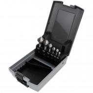 6 tlg Kegelsenker Set HSS- Co 5% DIN 335 6,3 - 20,5 mm