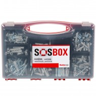 360 tlg. FISCHER Sortimentsbox mit S Spreizdübel und FU Universaldübel 5 - 10mm, inkl. Schrauben