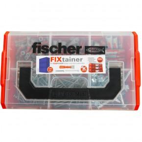 210 tlg. FISCHER FIXtainer - DUOPOWER Nylon-Dübel + Schrauben-Sortiment 6-8-10mm