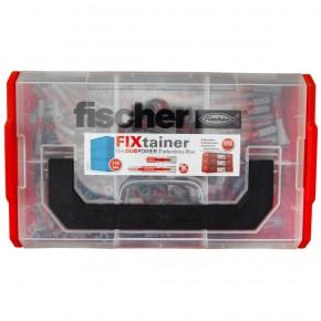 210 tlg. FISCHER FIXtainer - DUOPOWER - Nylon-Dübel -Sortiment 6 + 8mm kurz-lang