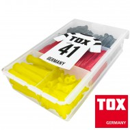174 tlg Sortiment TOX-Universaldübel mit Kragen 5x31 bis 10x61