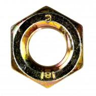 1 Beschlagset für Jägerzaun-Einzeltore mit 500 mm Ladenbändern, gelb verzinkt