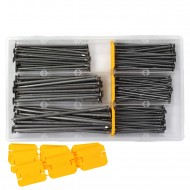 1 Drahtstifte-Sortiment - Ø = 3,1 bis 5,5 mm - ca. 2,38 Kg Nägel