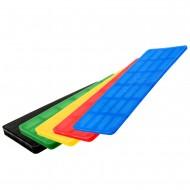 210 tlg Sortiment Verglasungsklötze SILISTO® bunt 2-6x40mm