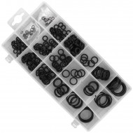 225 teiliges Gummi O-Ringe Sortiment, 3 - 22 mm Durchmesser