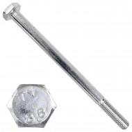10 Sechskantschrauben DIN 931 - M10 x 150mm - verzinkt - Festigkeitsklasse 8.8