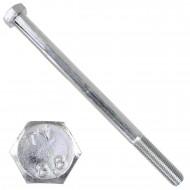 1 Sechskantschraube DIN 931 - M16 x 230mm - verzinkt - Festigkeitsklasse 8.8
