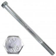 1 Sechskantschraube DIN 931 - M16 x 240mm - verzinkt - Festigkeitsklasse 8.8