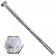 100 Sechskantschrauben DIN 931 - M6 x 100mm - verzinkt - Festigkeitsklasse 8.8