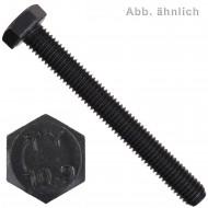 200 Sechskantschrauben M8 x 35 mm - SW 13 - Stahl 10.9 - DIN 933
