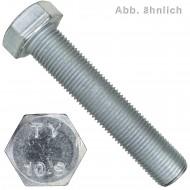 100 Sechskantschrauben M12 x 60 mm DIN 960 10.9 Feingewinde 1,5 mm
