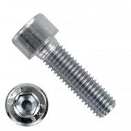 100 Zylinderschrauben M10 x 35mm - verzinkt - 8.8 - Innensechskant - DIN 912