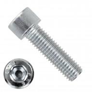 100 Zylinderschrauben M12 x 40mm - verzinkt - 8.8 - Innensechskant - DIN 912