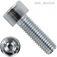 100 Zylinderschrauben DIN 7984 - M8 x 60mm - Innensechskant - Edelstahl A2