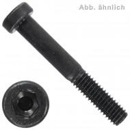 200 Zylinderschrauben M10 x 30 mm - DIN 6912 - Innensechskant - 10.9 blank