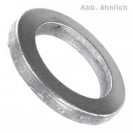250 Scheiben für M7 Bolzen - DIN 1441 - Stahl