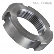1 Nutmutter M68 x 1,5 mm - ungehärtet - ungeschliffen - DIN 1804 - blank