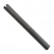 100 Gewindestifte mit Schlitz und Kegelkuppe DIN 551 M6 x 40 mm
