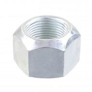 50 Sechskantmuttern mit Klemmteil M20x1,5 mm - verzinkt - DIN 980 - Feingewinde