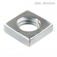 1000 Vierkantmuttern DIN 562 verzinkt M4