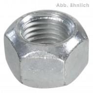 50 Sechskantmuttern mit Klemmteil - Ganzmetallmuttern - M16 - DIN 6925