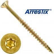 200 Arrestix Spanplattenschrauben 4,5 x 60mm - Senkkopf TX ETA - gelb verzinkt