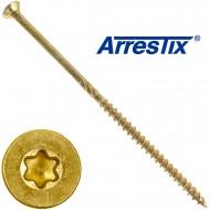 50 Arrestix Spanplattenschrauben 6 x 140mm - Senkkopf TX ETA - gelb verzinkt